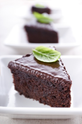 This Flourless Chocolate Cake Will Surprise You No Flour No Dairy No Nuts No Sugar I Opted For The Honey Instead Of The Stevia